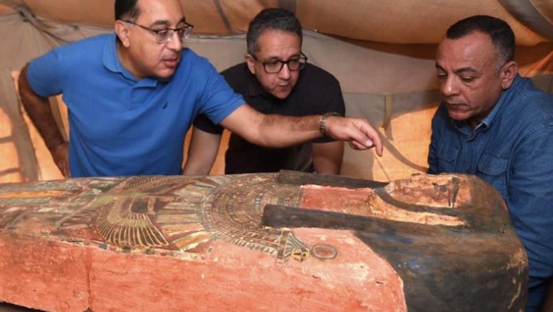 Encuentran otros 80 sarcófagos de más de 2 mil 500 años de antigüedad en Egipto
