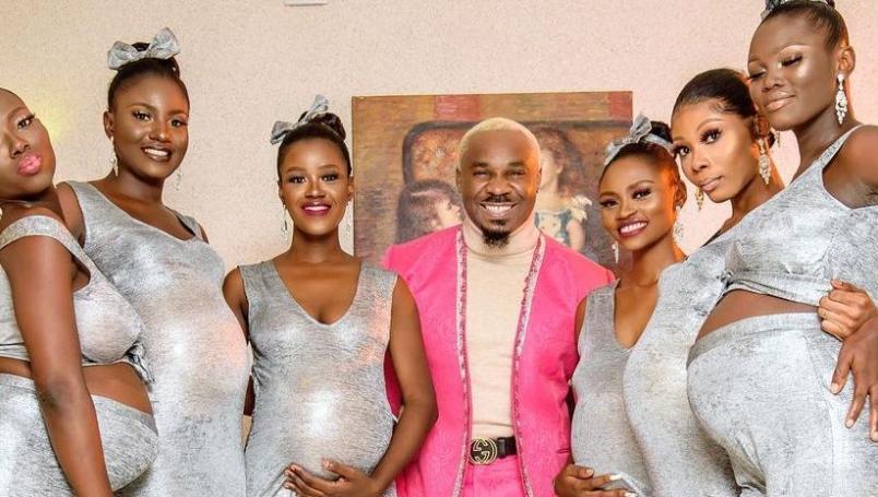 Asiste a boda con sus 6 novias embarazadas