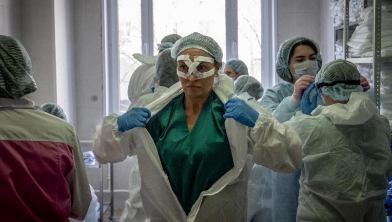 Rusia vacuna a sus militares contra el Covid-19
