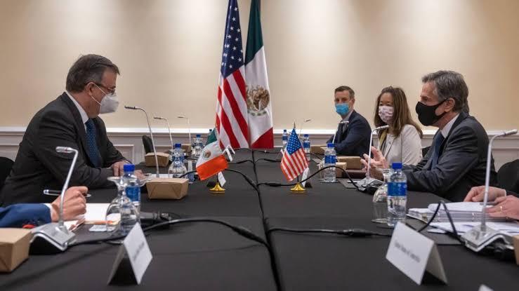 Marcelo Ebrard y Antony Blinken acuerdan promover una migración humana y justa