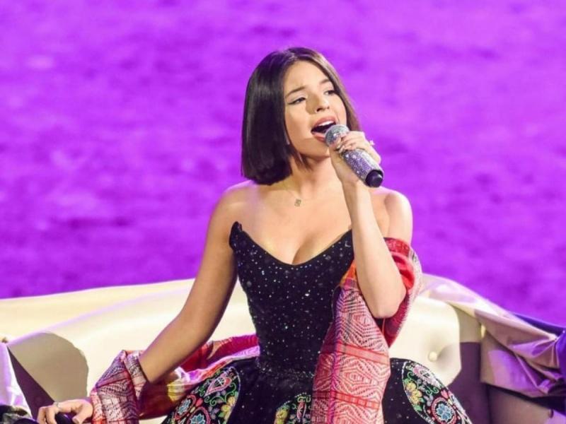 Segob no multará a Ángela Aguilar por entonación del Himno Nacional